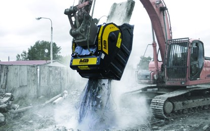 MB Crusher Crush and Demolition Buckets