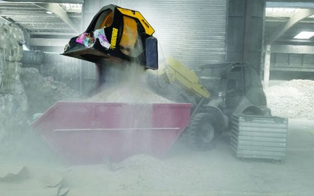 Enclosed area and underground crushing buckets 2