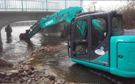 MAINTENANCE OF PARKLAND, FARMLAND AND WOODLAND Equipment fro rivers