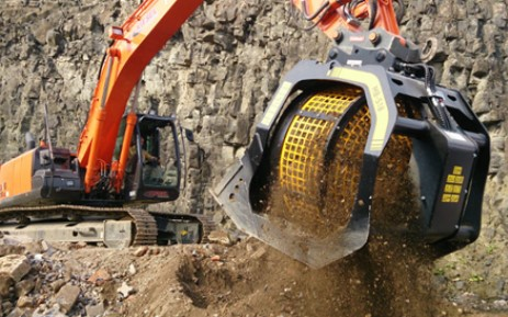 MB drum Crusher for quarries and mines