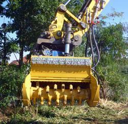 Excavator Mulchers - Seppi M Supplier in South Africa - ATSE