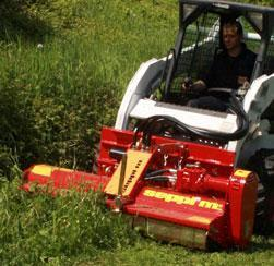 Mulchers for compact loaders- Seppi M Supplier in South Africa - ATSE